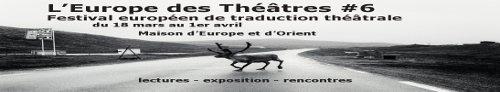 L'Europe des Théâtres #6