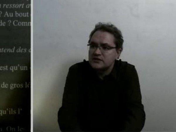 """Vidéo """"La traduction"""", entretien avec Daniel Loayza"""