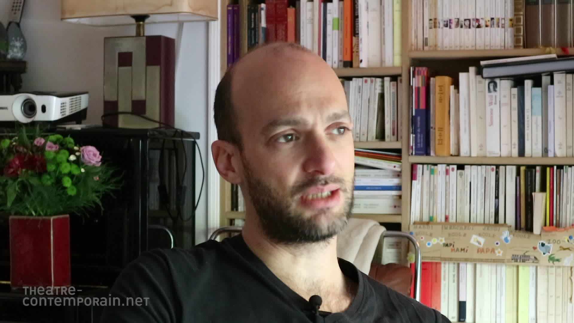 Questions à David Geselson