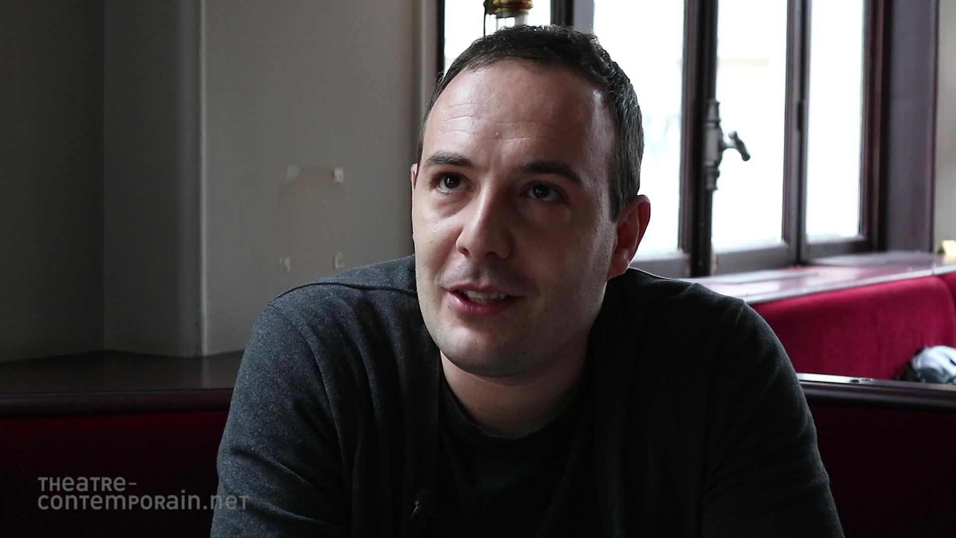 """Fabio Marra, """"Le découverte du théâtre"""""""