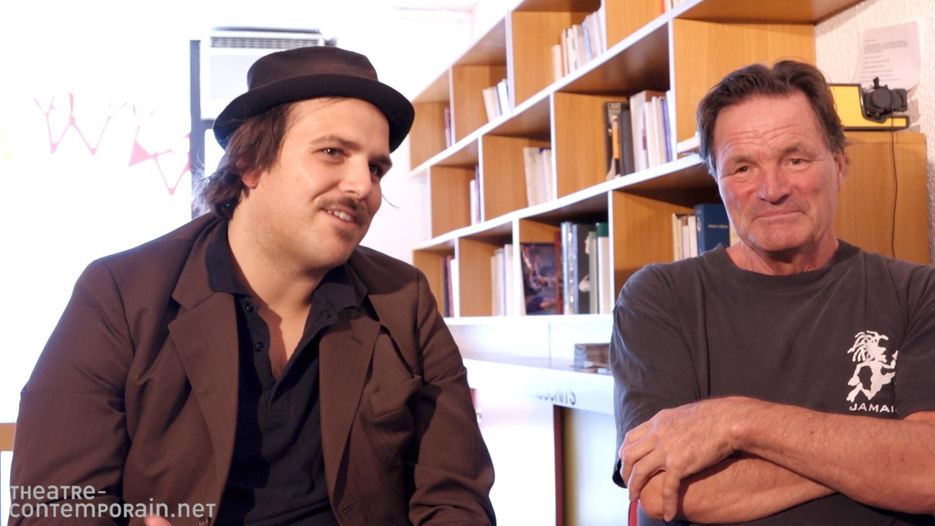 Image de la vidéo Ferdinand Schmalz / L'écriture au jour le jour