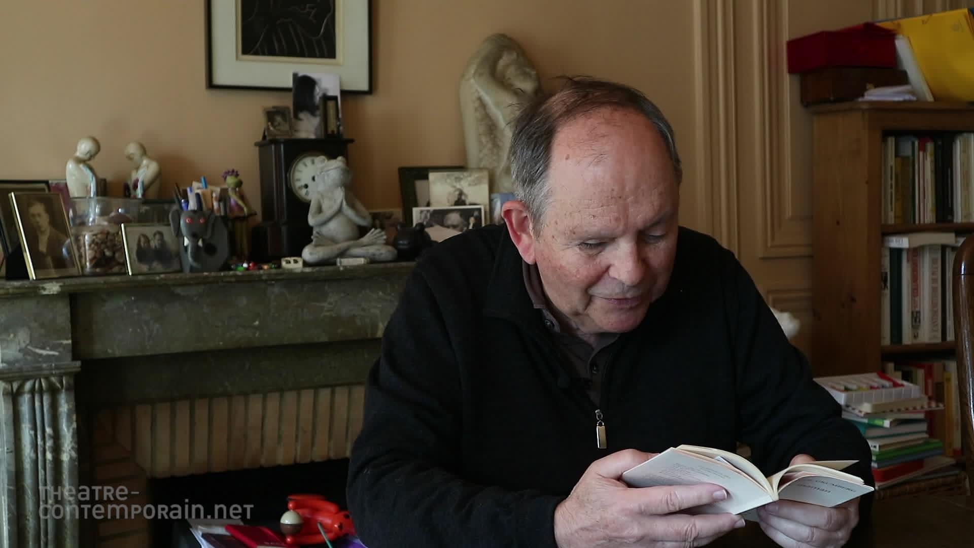 Image de la vidéo Jean-Claude Grumberg lit un extrait de