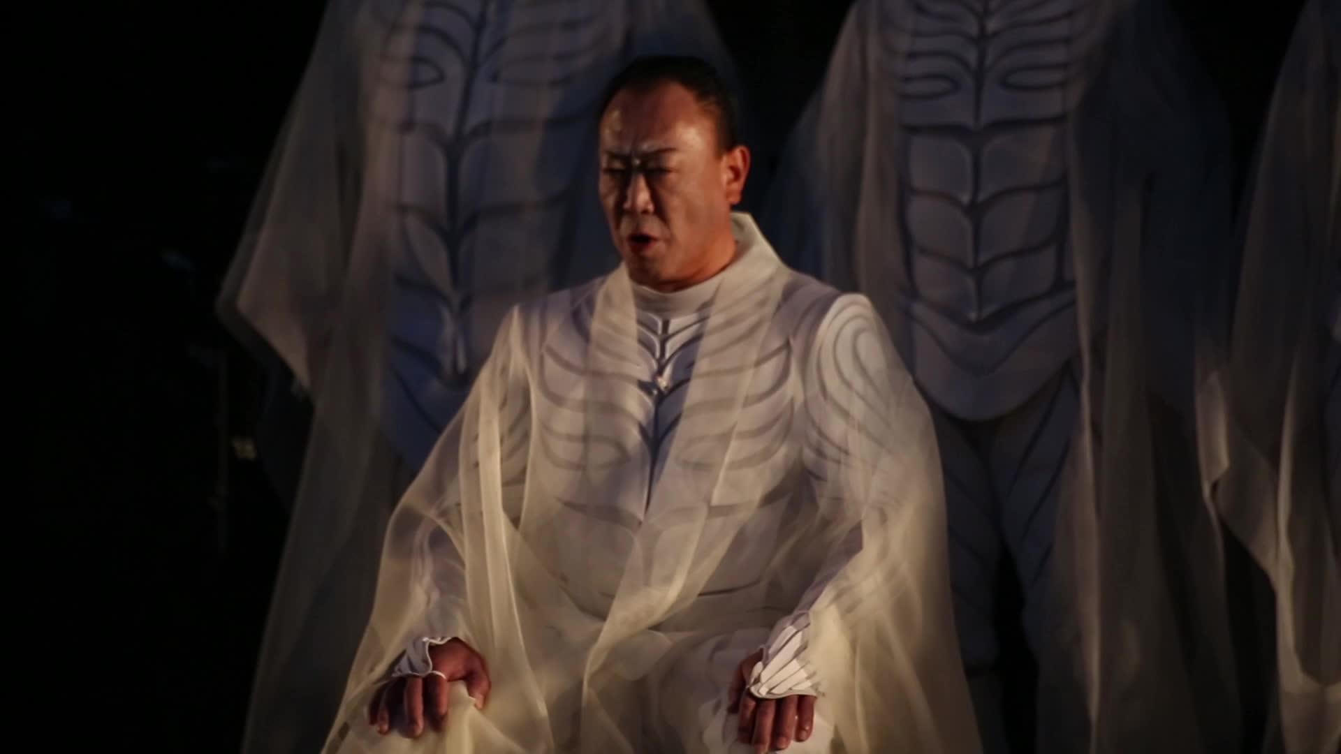 "Vidéo Satoshi Miyagi - ""Antigone"" - extraits"