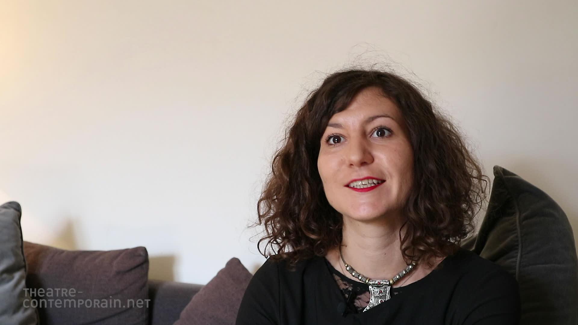 """Anaïs Allais, """"La découverte du théâtre"""""""