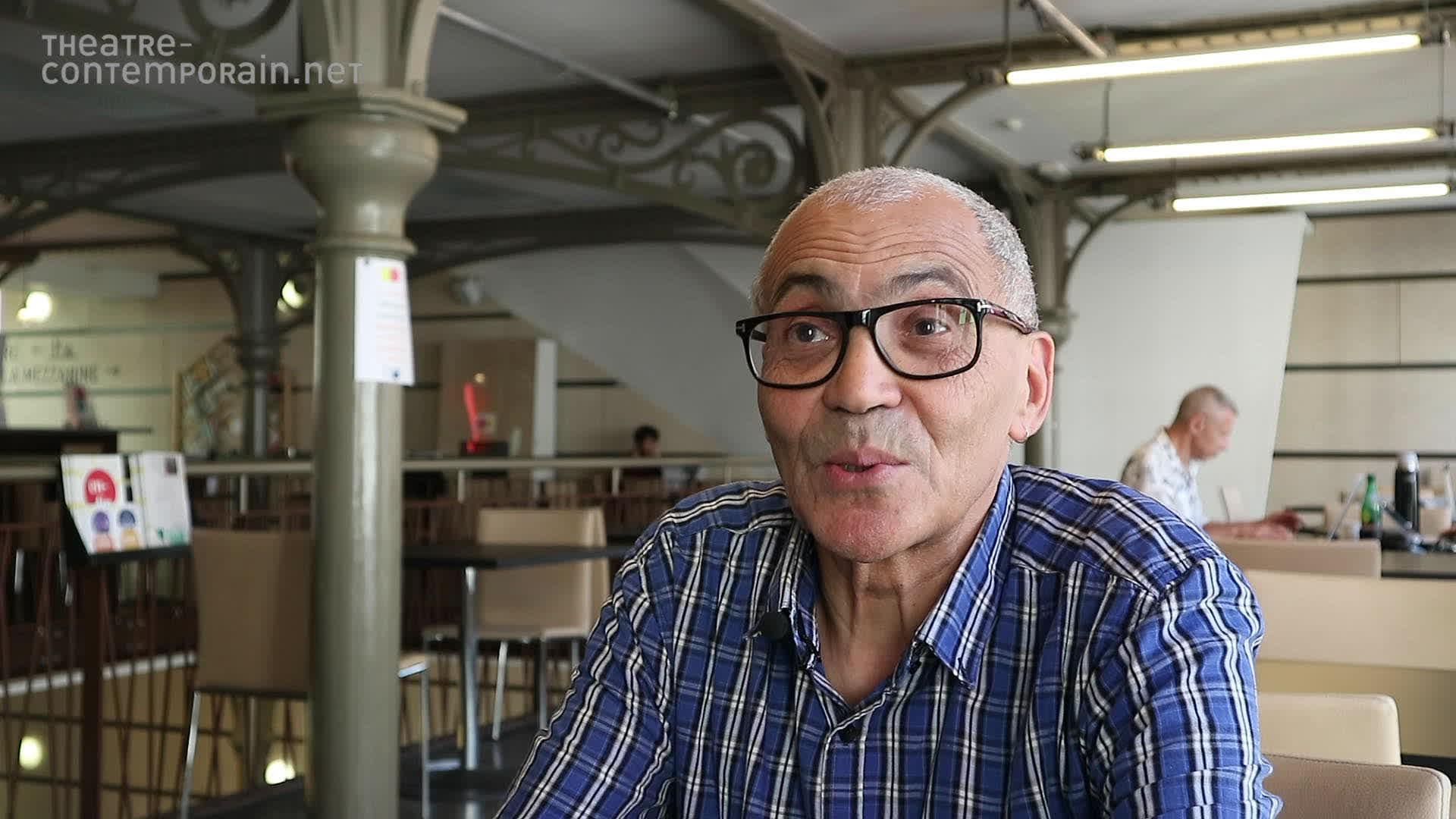 """Ahmed Madani, """"La découverte du théâtre"""""""