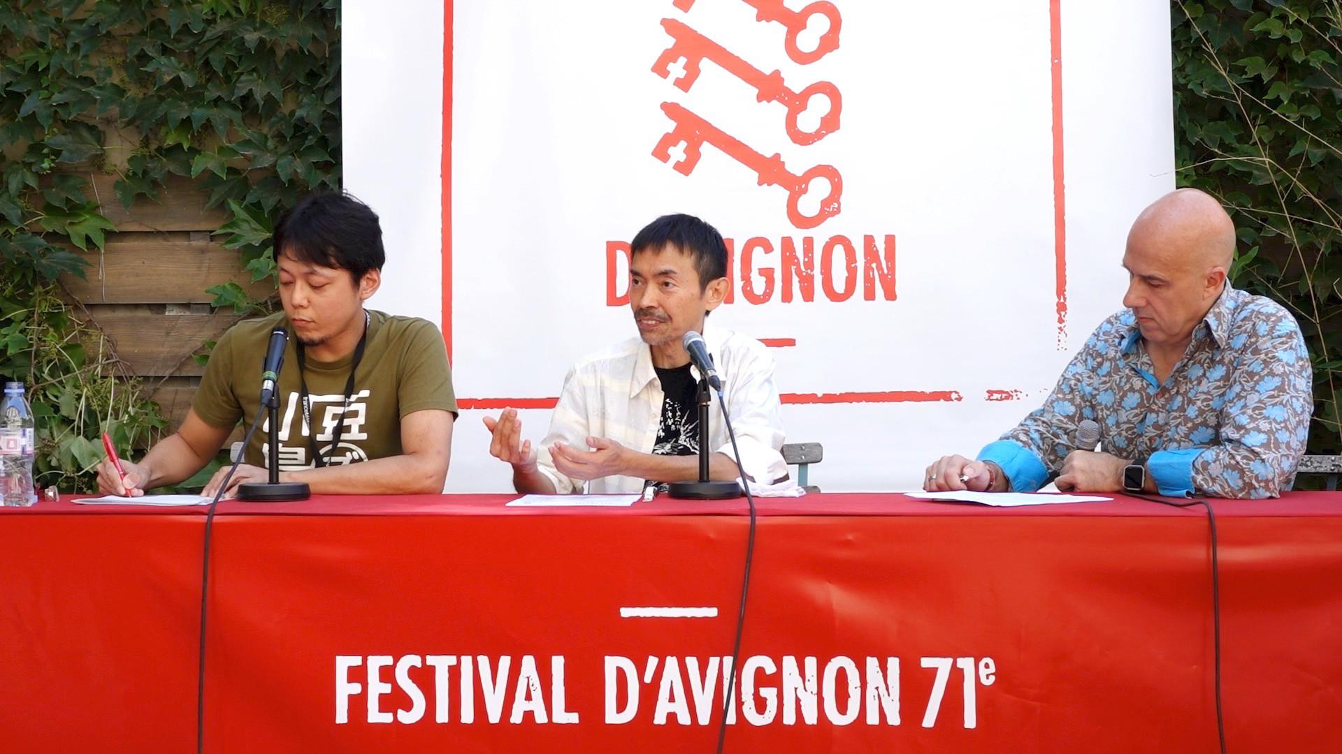 """Vidéo Satoshi Miyagi pour """"Antigone"""""""