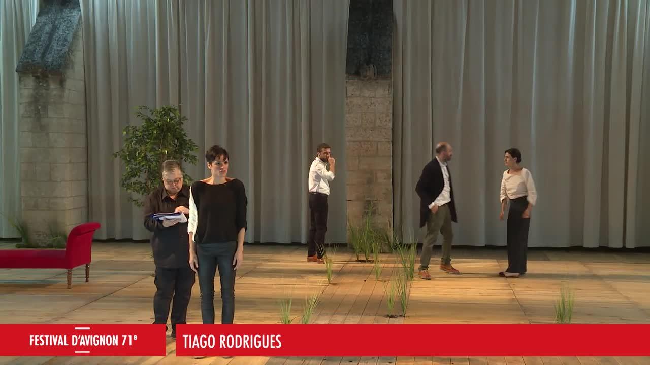 Vidéo Tiago Rodrigues - Sopro - Extraits