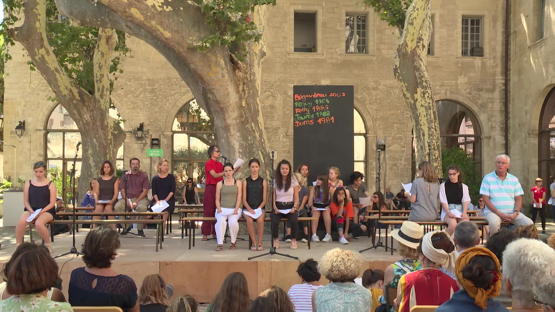 Vidéo Anne-Laure Liégeois et Christiane Taubira - On aura tout - Extrait (jour 7)
