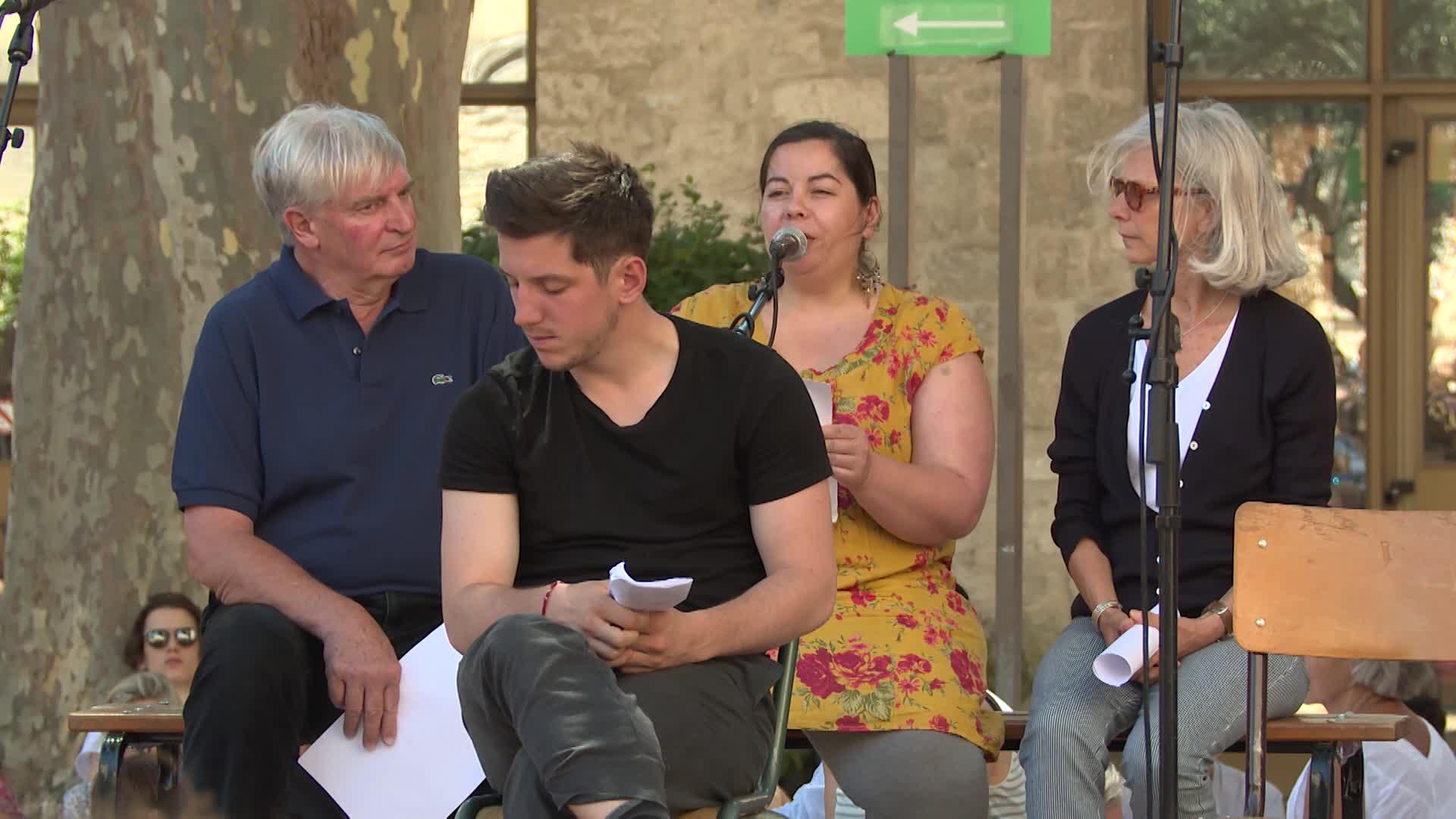 Vidéo Anne-Laure Liégeois et Christiane Taubira - On aura tout - Extrait (jour 6)