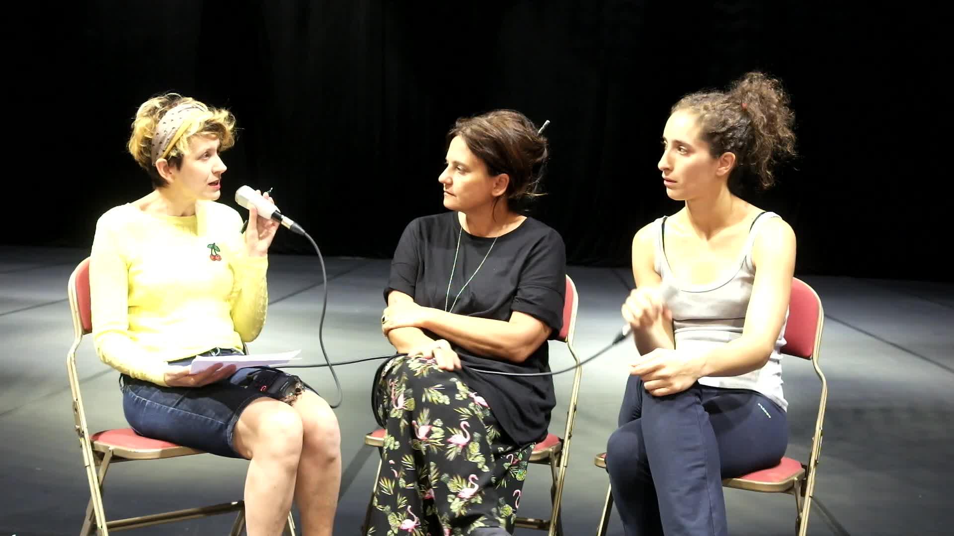 Vidéo Entretien avec Emma Dante