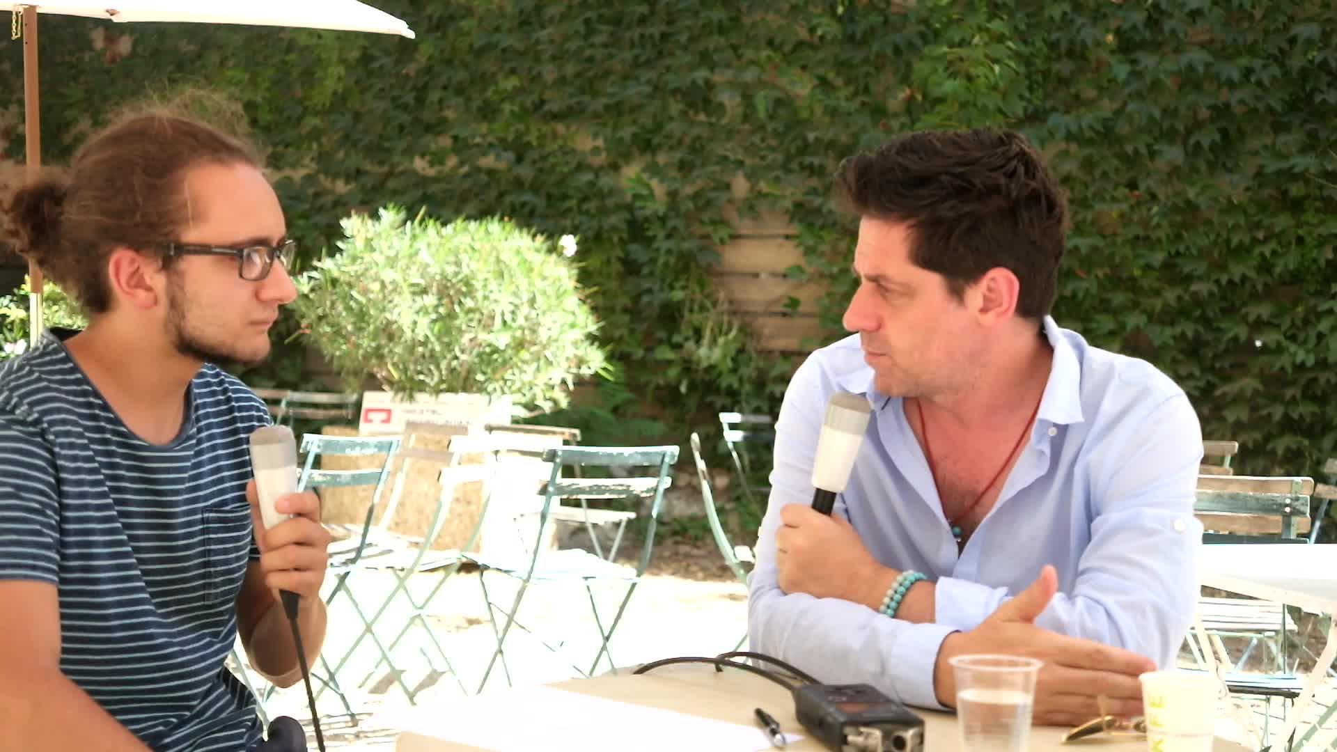 Vidéo Entretien avec Olivier Py