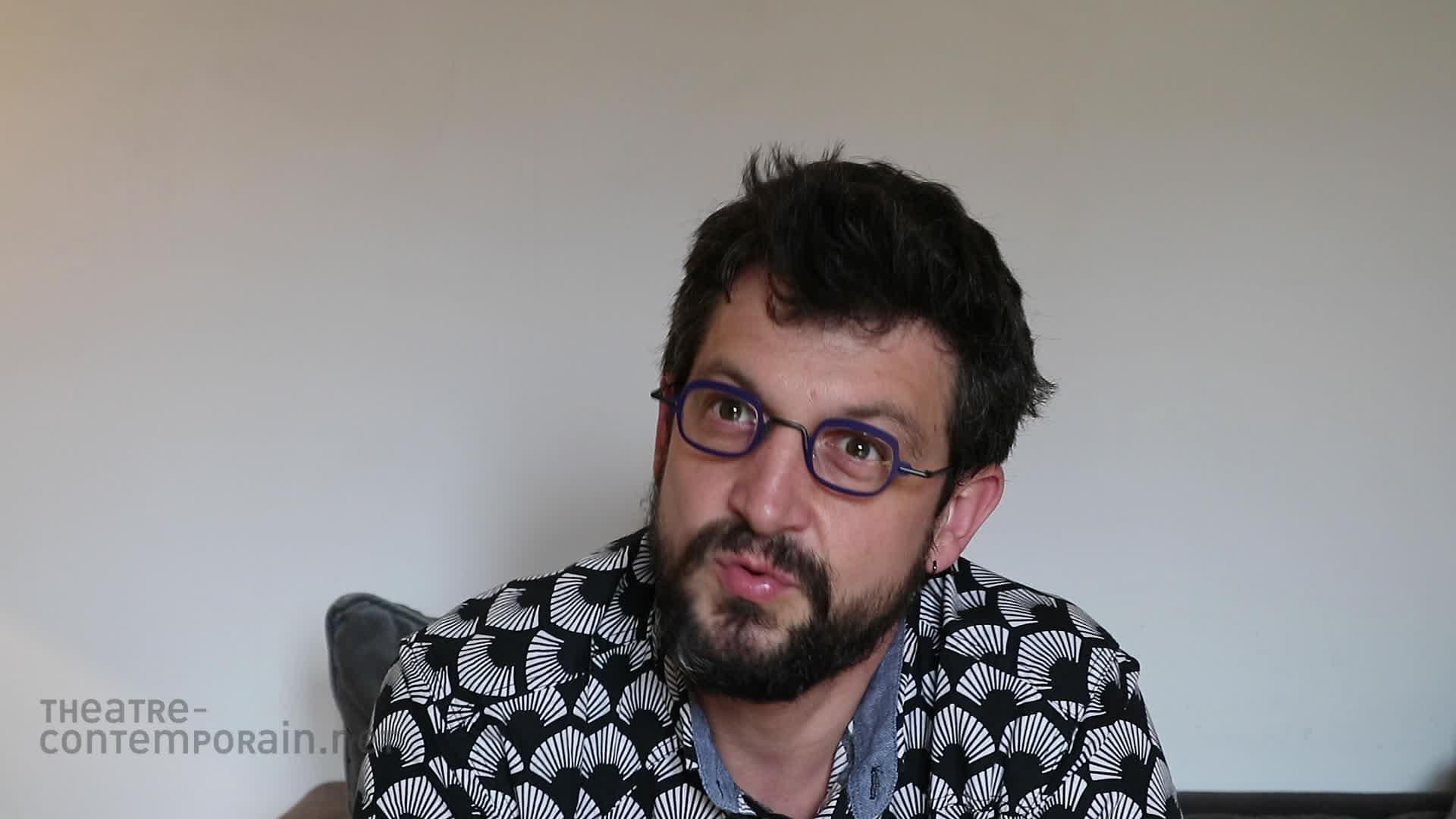 """Simon Grangeat, """"La découverte du théâtre"""""""