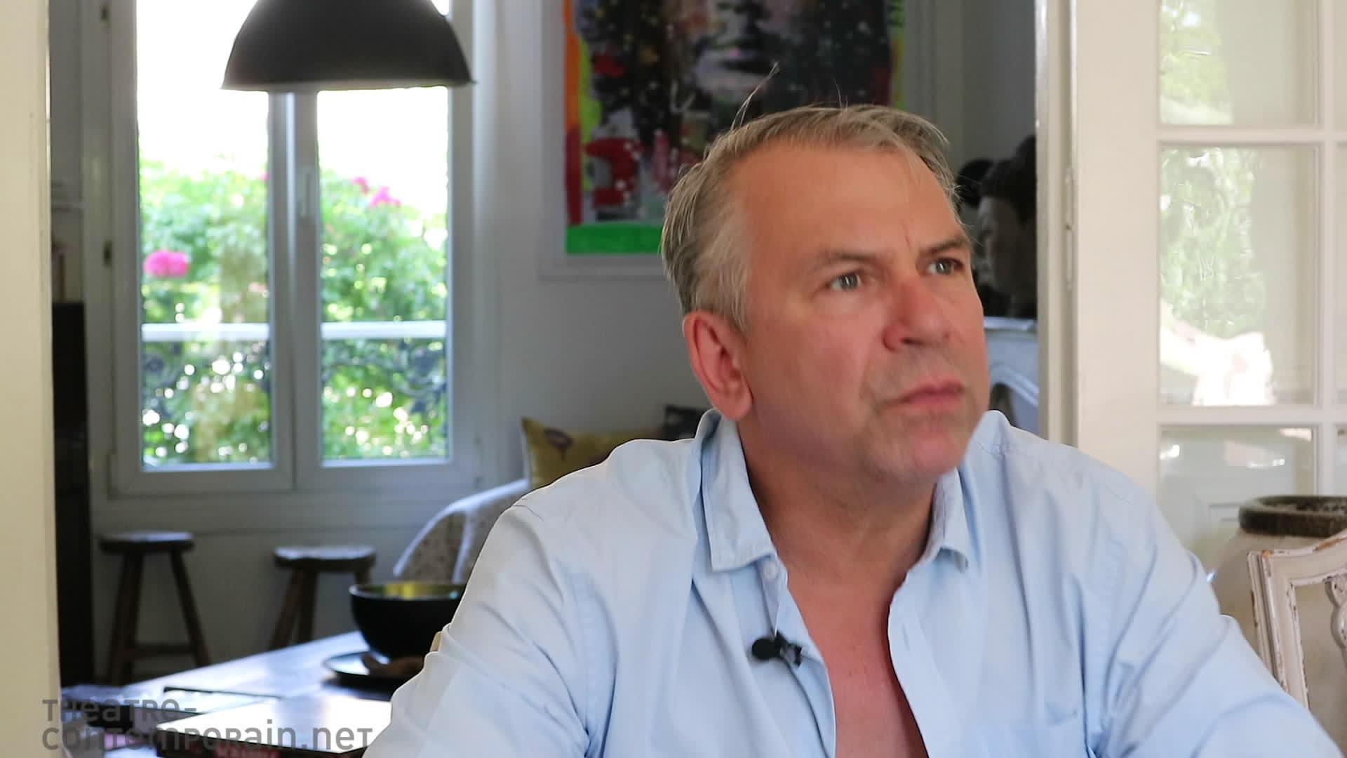 """Vidéo Philippe Torreton, """"Cyrano"""", jouer dans le théâtre de la création"""