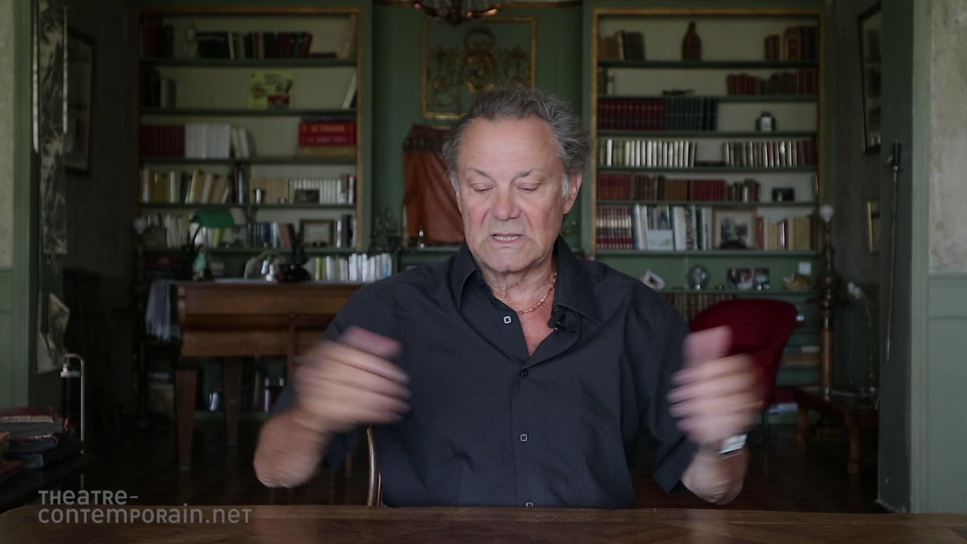 """Vidéo Philippe Caubère, """"le partenariat avec l'Athénée"""""""