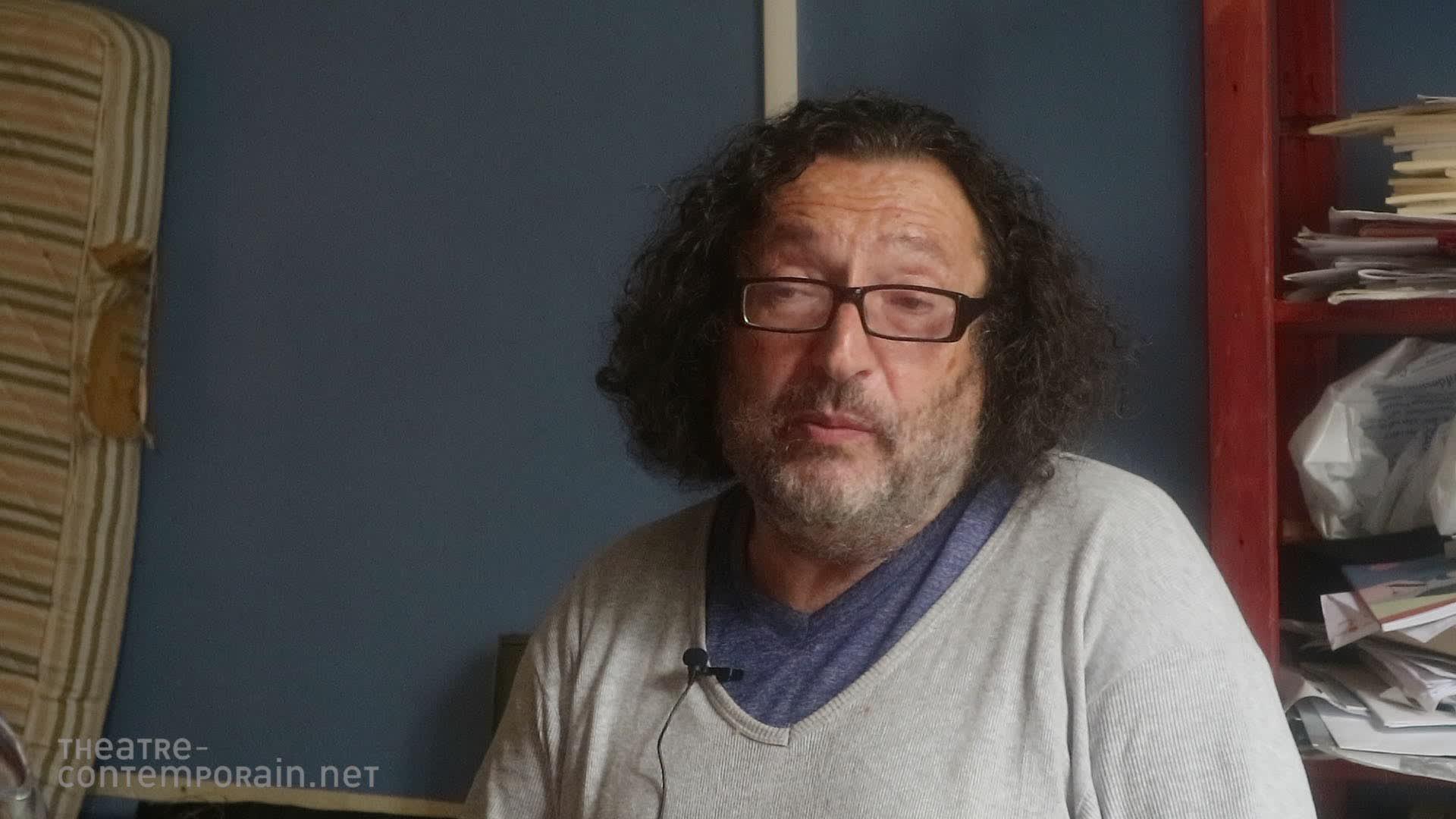 """Eugène Durif, """"la découverte du théâtre"""""""