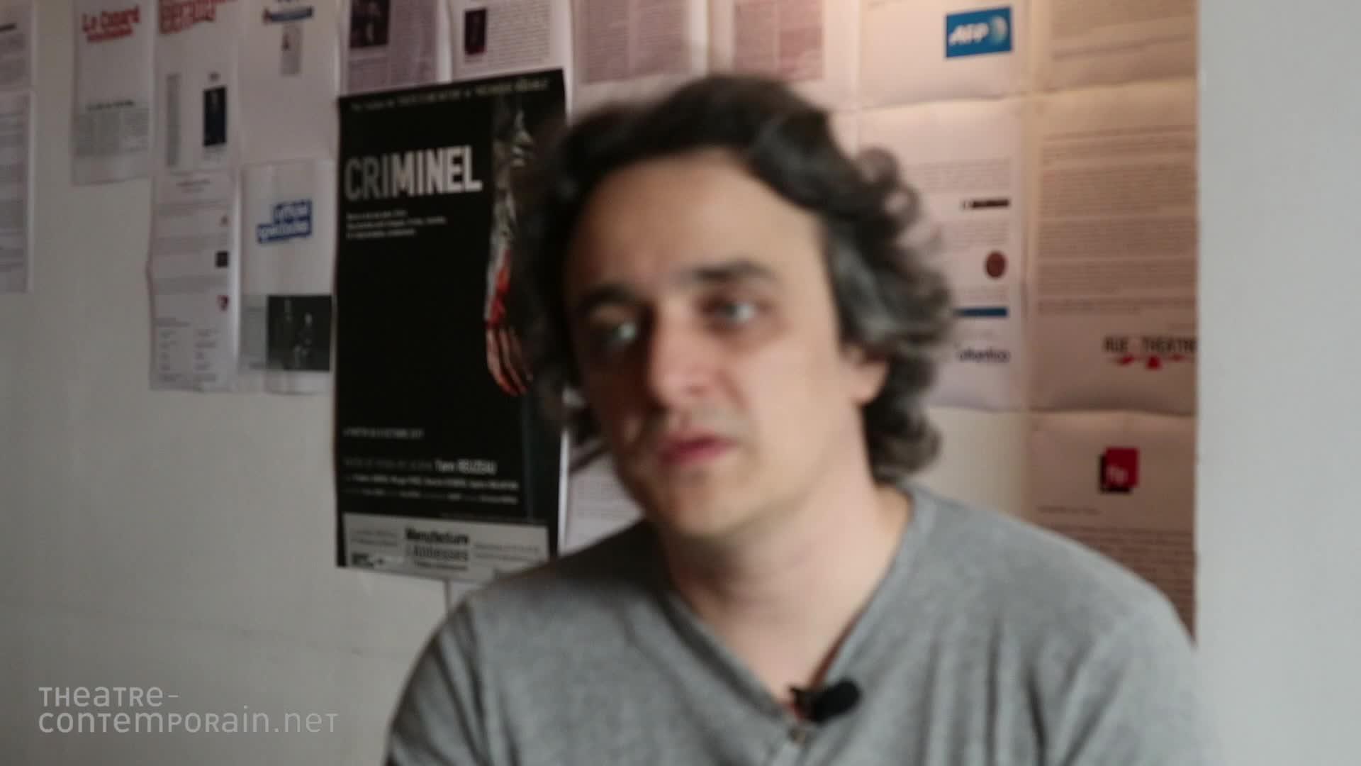 Image de la vidéo pour 'Criminel'