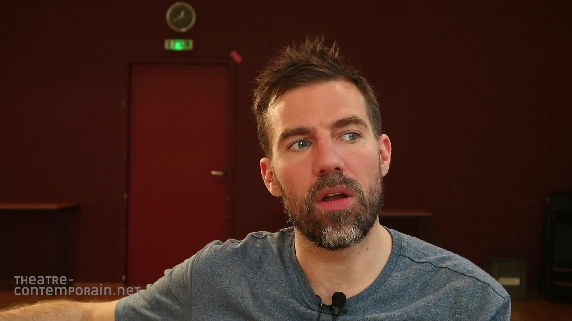 """David Paquet, """"La découverte du théâtre"""""""