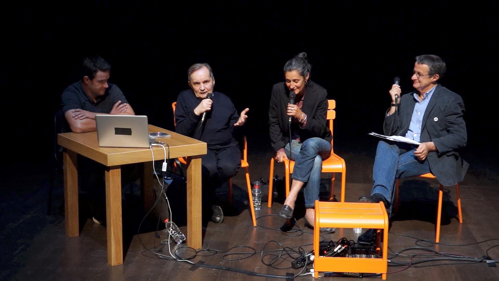 """Vidéo Rencontre avec R. Hoghe pour """"Canzone per Ornella"""" et """"36, avenue Georges..."""""""