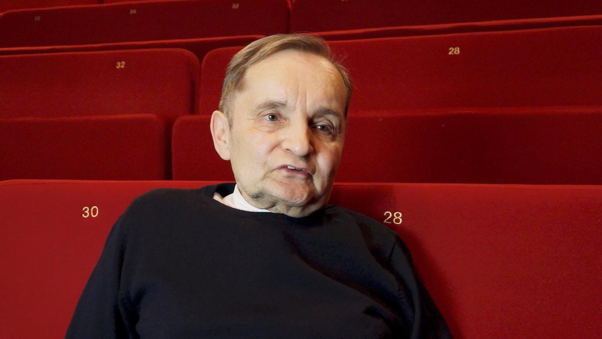 "Vidéo Entretien avec R. Hoghe pour ""Canzone per Ornella"""