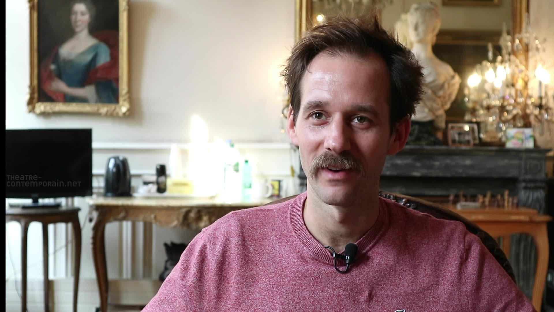 """Vidéo Benjamin Lavernhe, """"Scapin"""", les premiers contacts avec la pièce"""