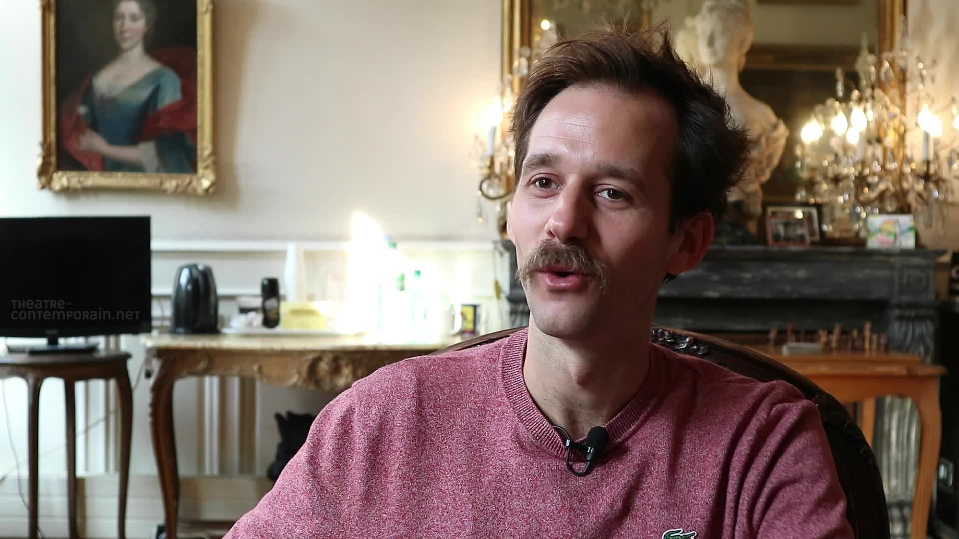 "Vidéo Benjamin Lavernhe, ""Scapin"", les costumes"