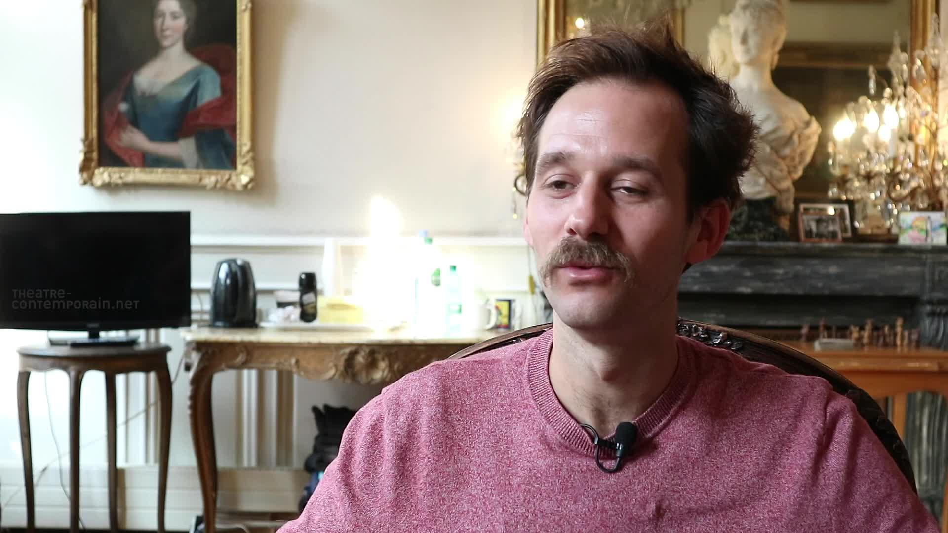 """Vidéo Benjamin Lavernhe, """"Scapin"""", le choix de l'acteur"""