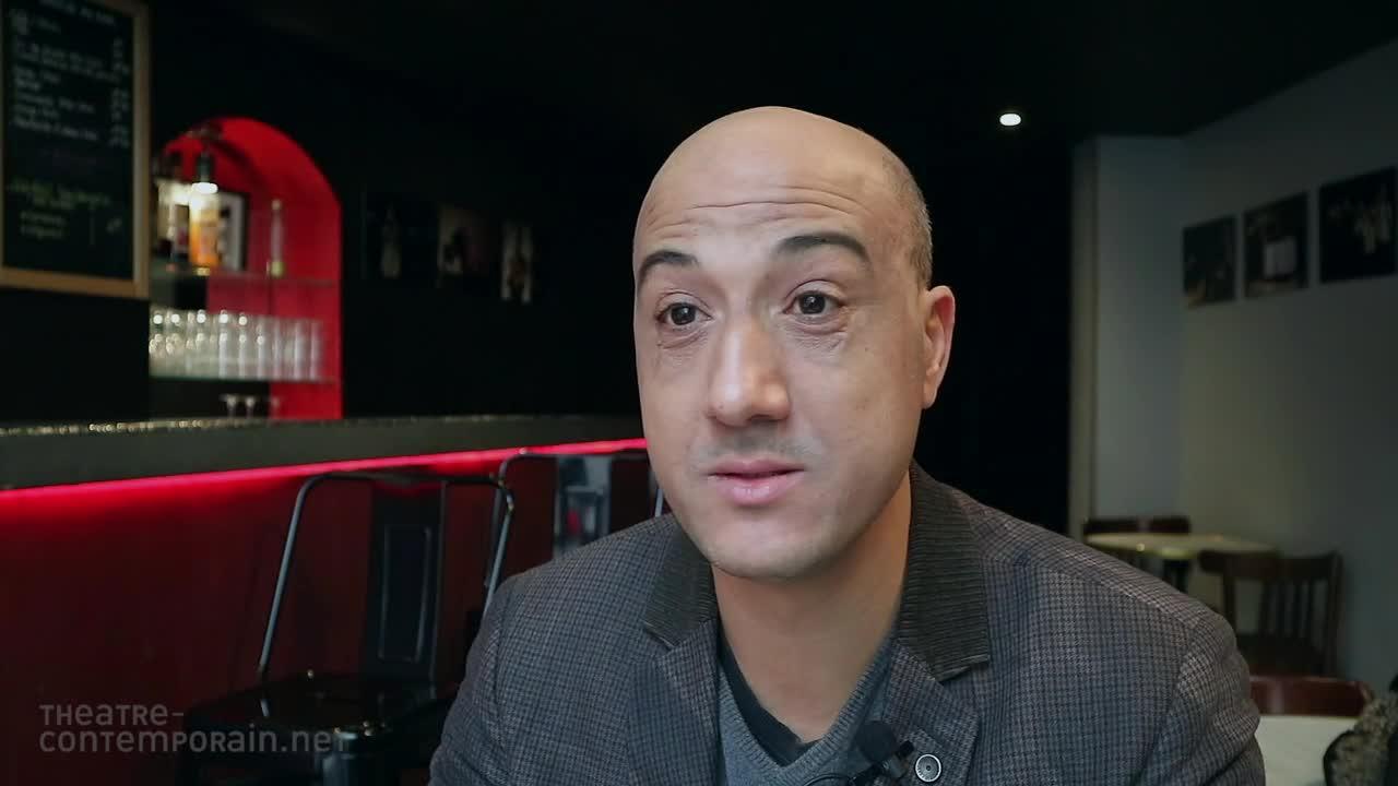 """Nasser Djemaï, """"La découverte du théâtre"""""""