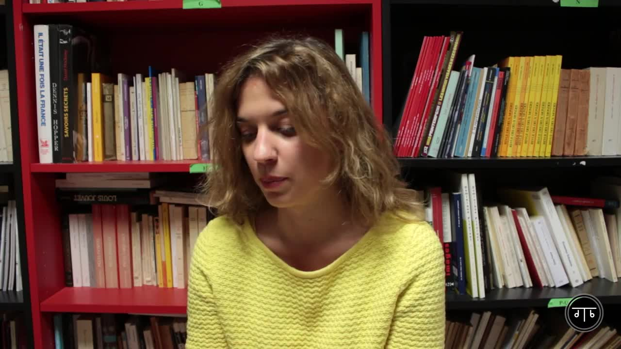 """Vidéo """"Inoxydables"""" - Présentation par Maëlle Poésy"""