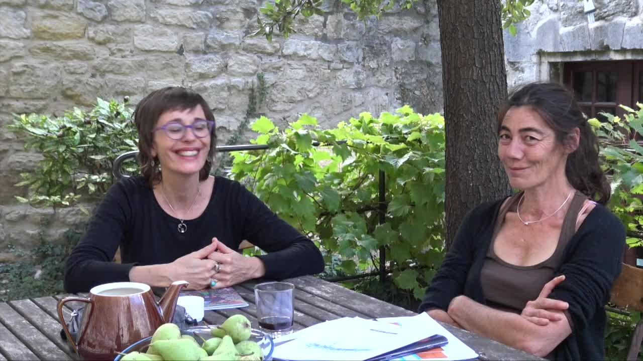 """Vidéo """"Triptyque Héroïne(s)"""" - Cie Les Passeurs - Présentation L. Jourdan/S. Tamisier"""