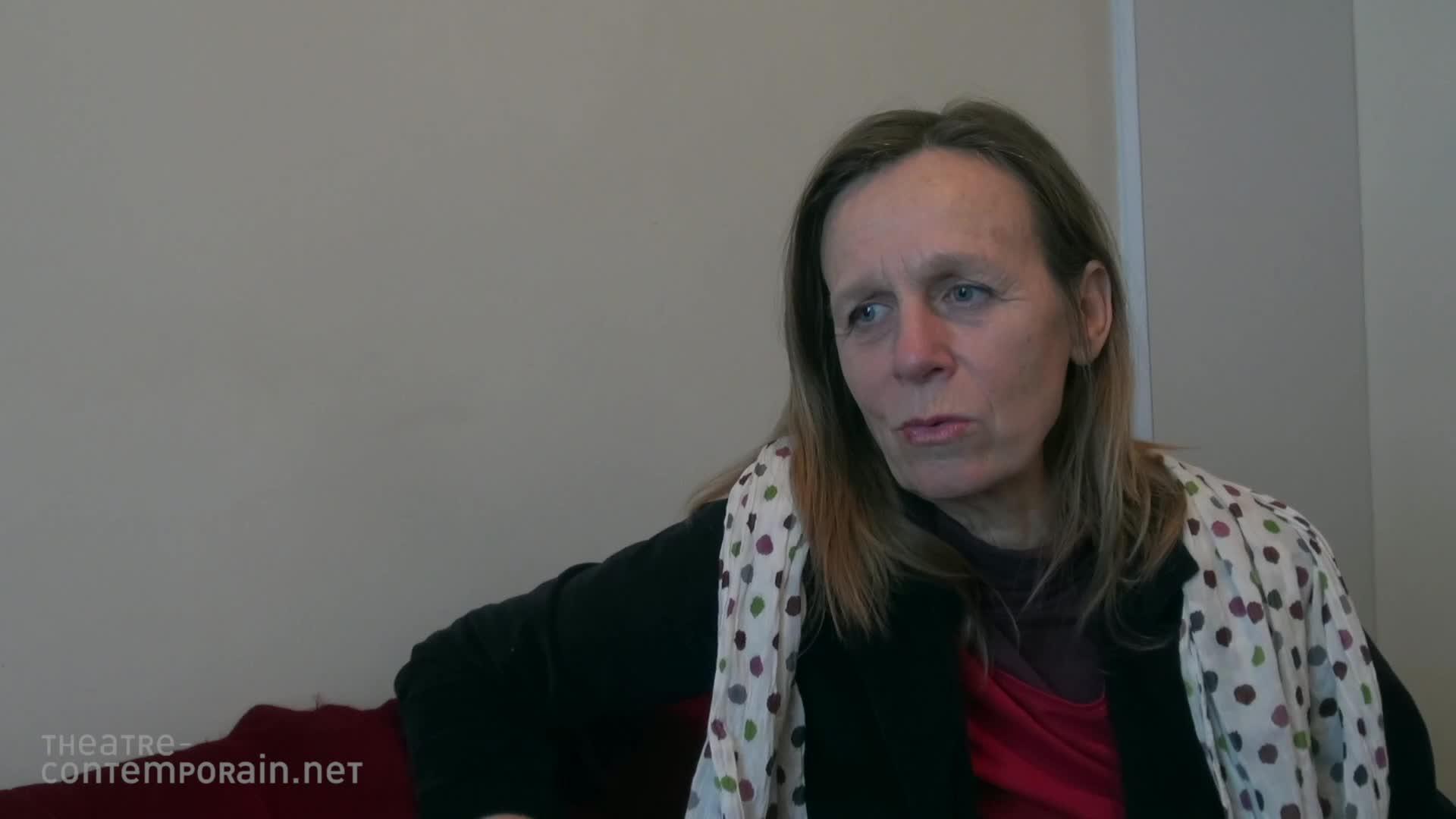 """Vidéo """"J'ai rêvé la révolution"""", Catherine Anne, du texte au plateau"""