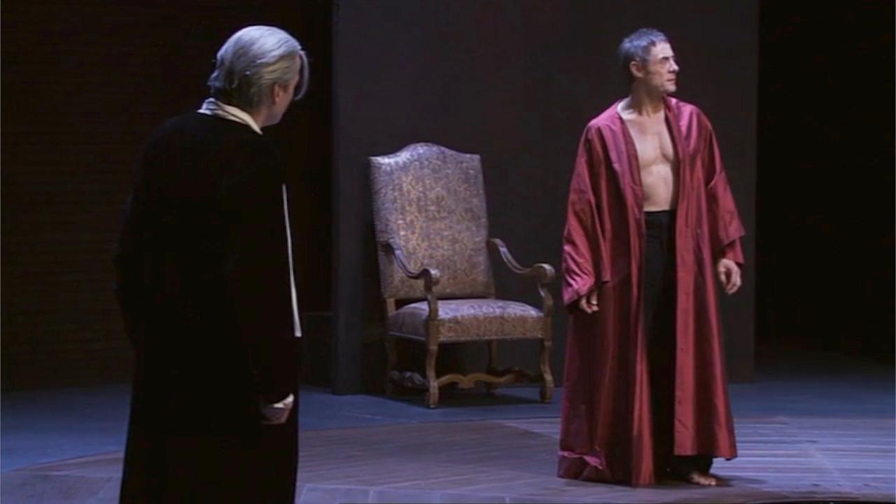 """Vidéo """"Britannicus"""" m.e.s. Jean-Louis Martinelli, extrait 1"""