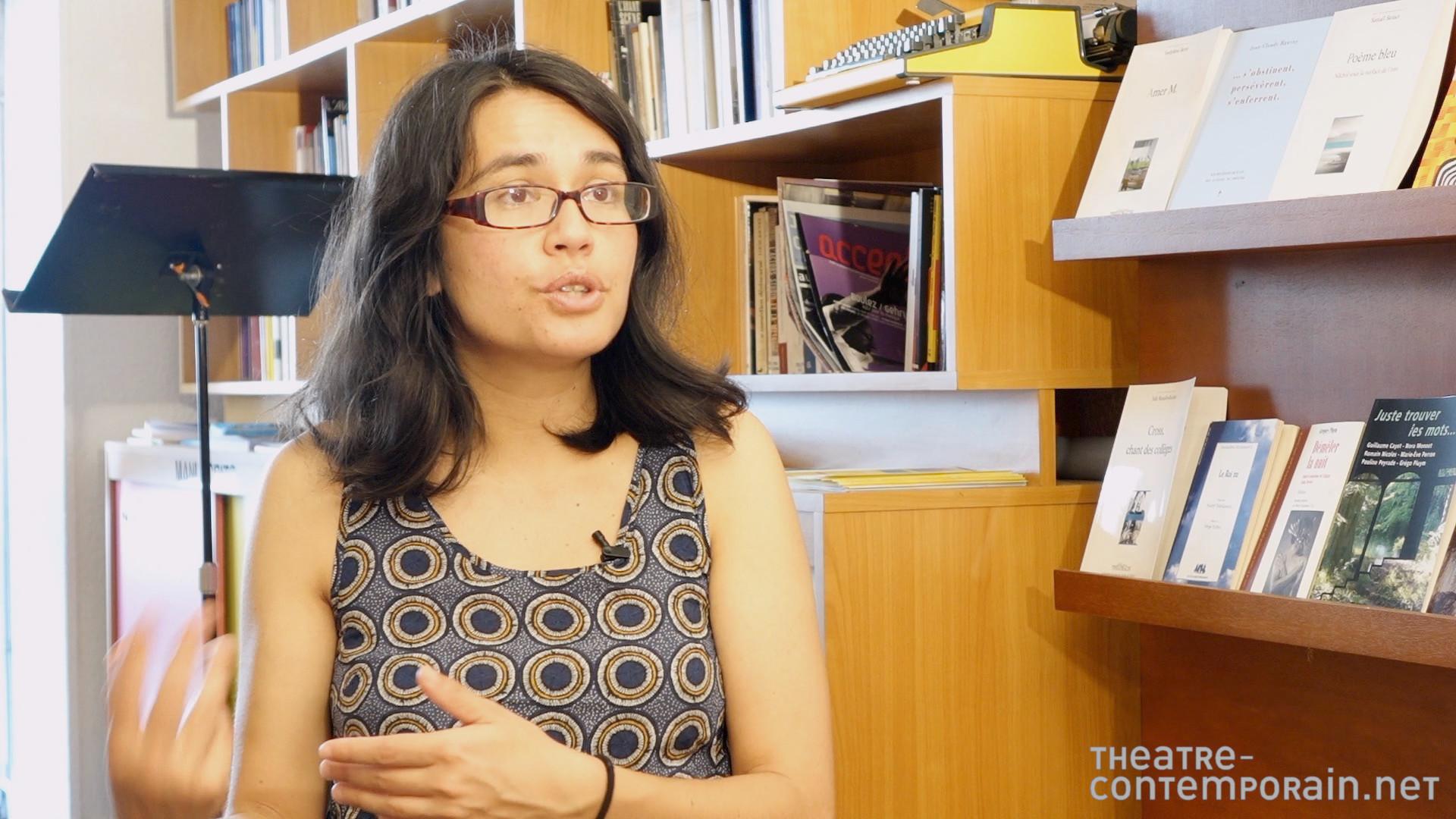 Image de la vidéo Marine Bachelot Nguyen / L'écriture au jour le jour
