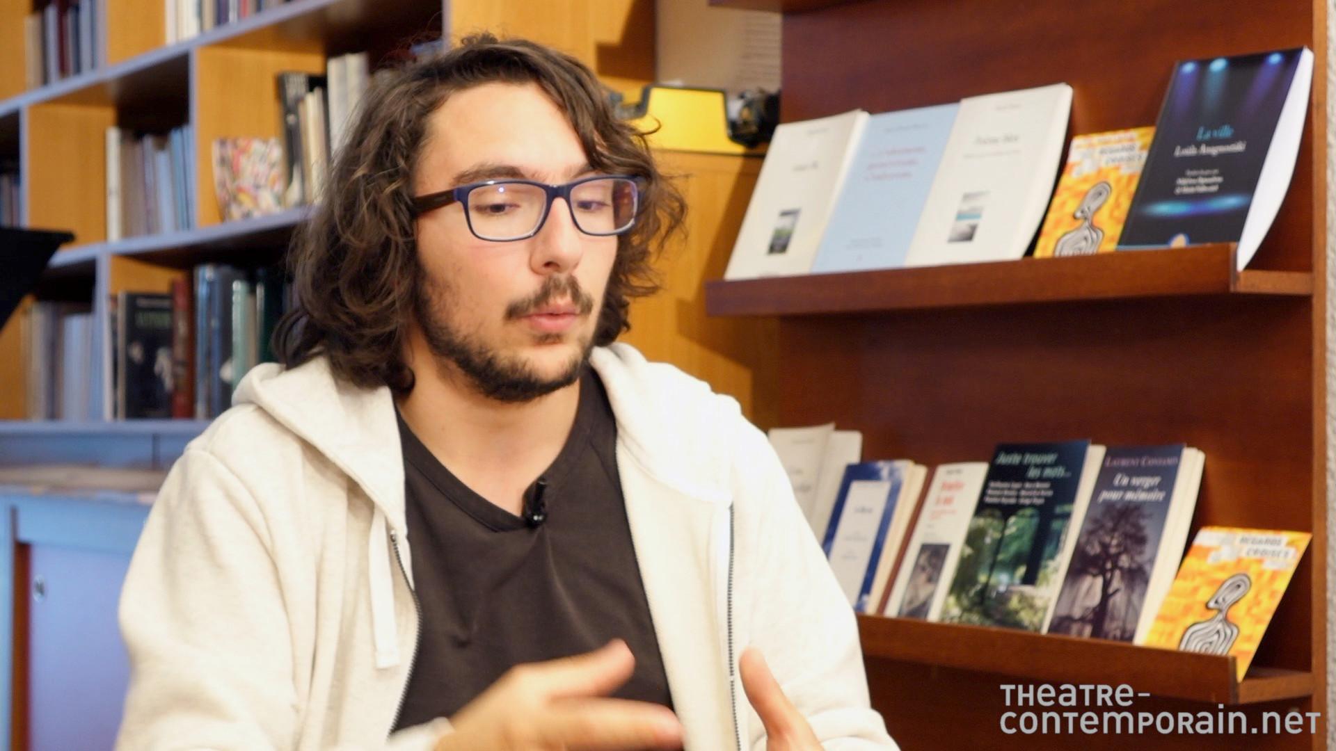 Image de la vidéo Romain Nicolas / L'écriture au jour le jour