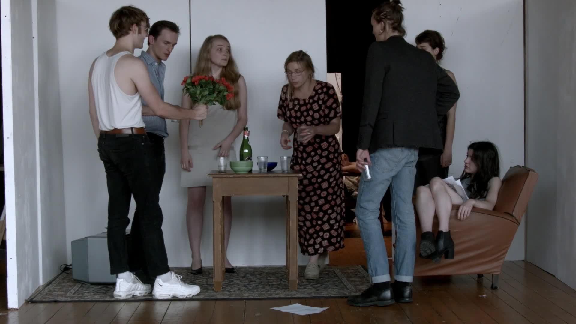 """Vidéo """"Le Pays Lointain (un Arrangement)"""", m.e.s. C. Rauck - Images des répétitions"""