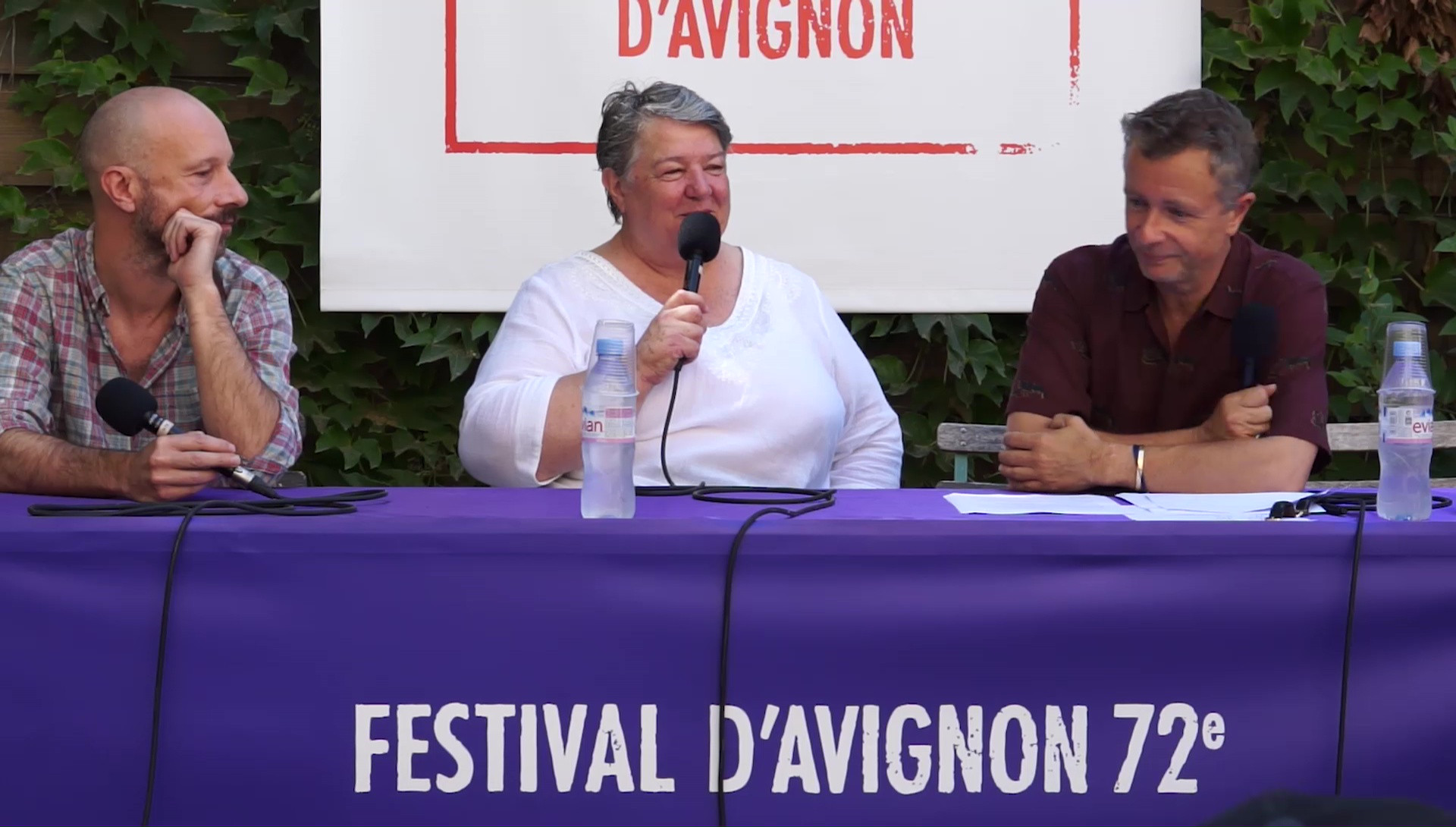 """Vidéo M. Louarn et J.-F. Auguste pour """"Le Grand Théâtre d'Oklahoma"""""""