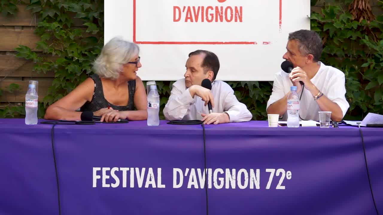 "Vidéo Raimund Hoghe pour ""36, avenue Georges Mandel"" et ""Canzone per Ornella"""