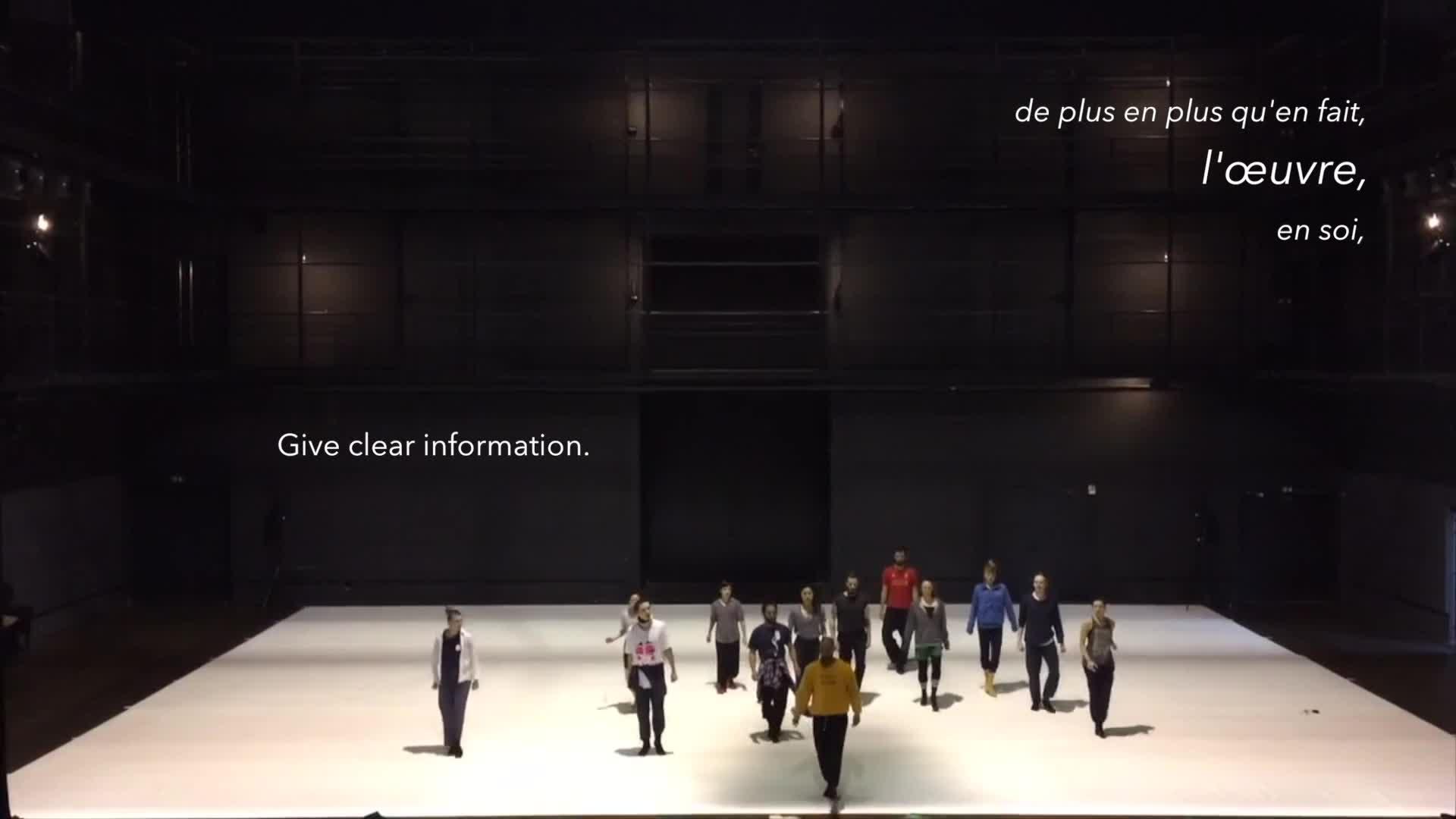 """Vidéo """"Story Water"""", chorégraphie Emanuel Gat - Extrait"""
