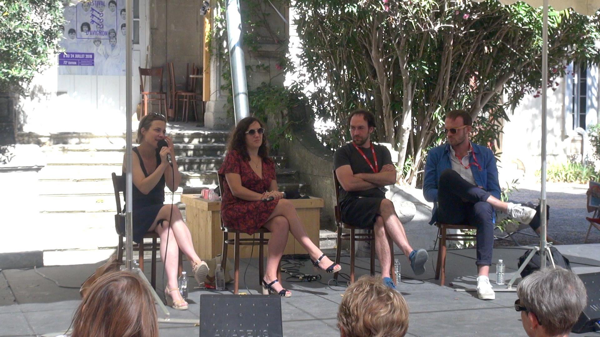 """Vidéo """"Iphigénie"""", dialogue artistes-spectateurs"""