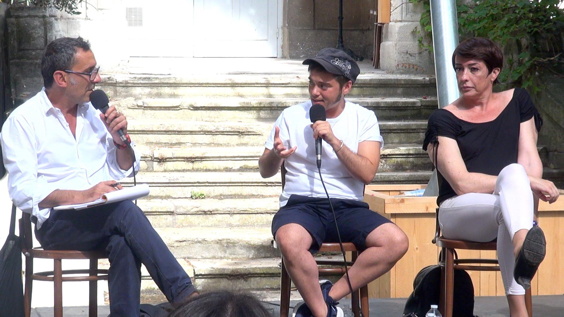 """Vidéo """"Trans (més enllà)"""", dialogue artistes-spectateurs"""