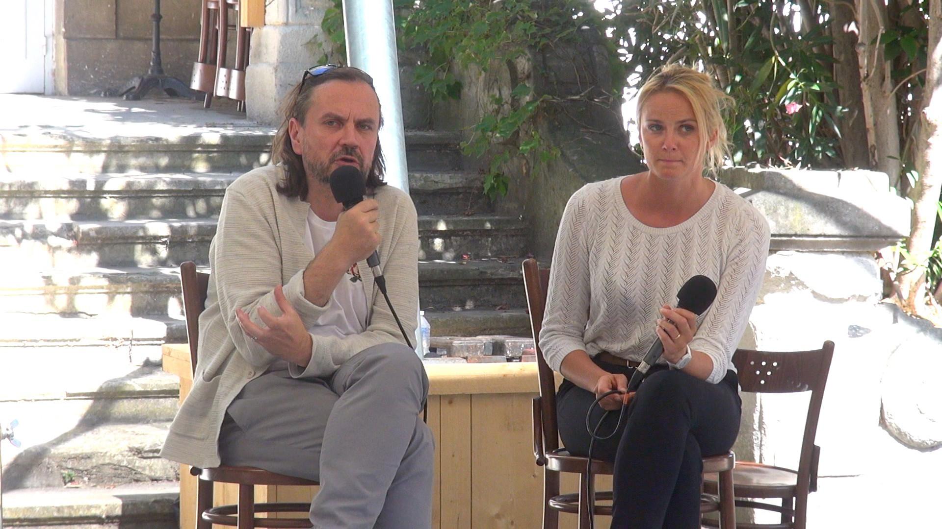 "Vidéo ""Tartiufas"", dialogue artistes-spectateurs"