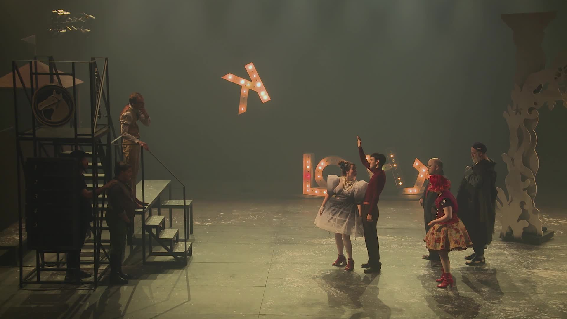 "Vidéo ""Le Grand théâtre d'Oklahama"" - M. Louarn, J.-F. Auguste - Extraits"