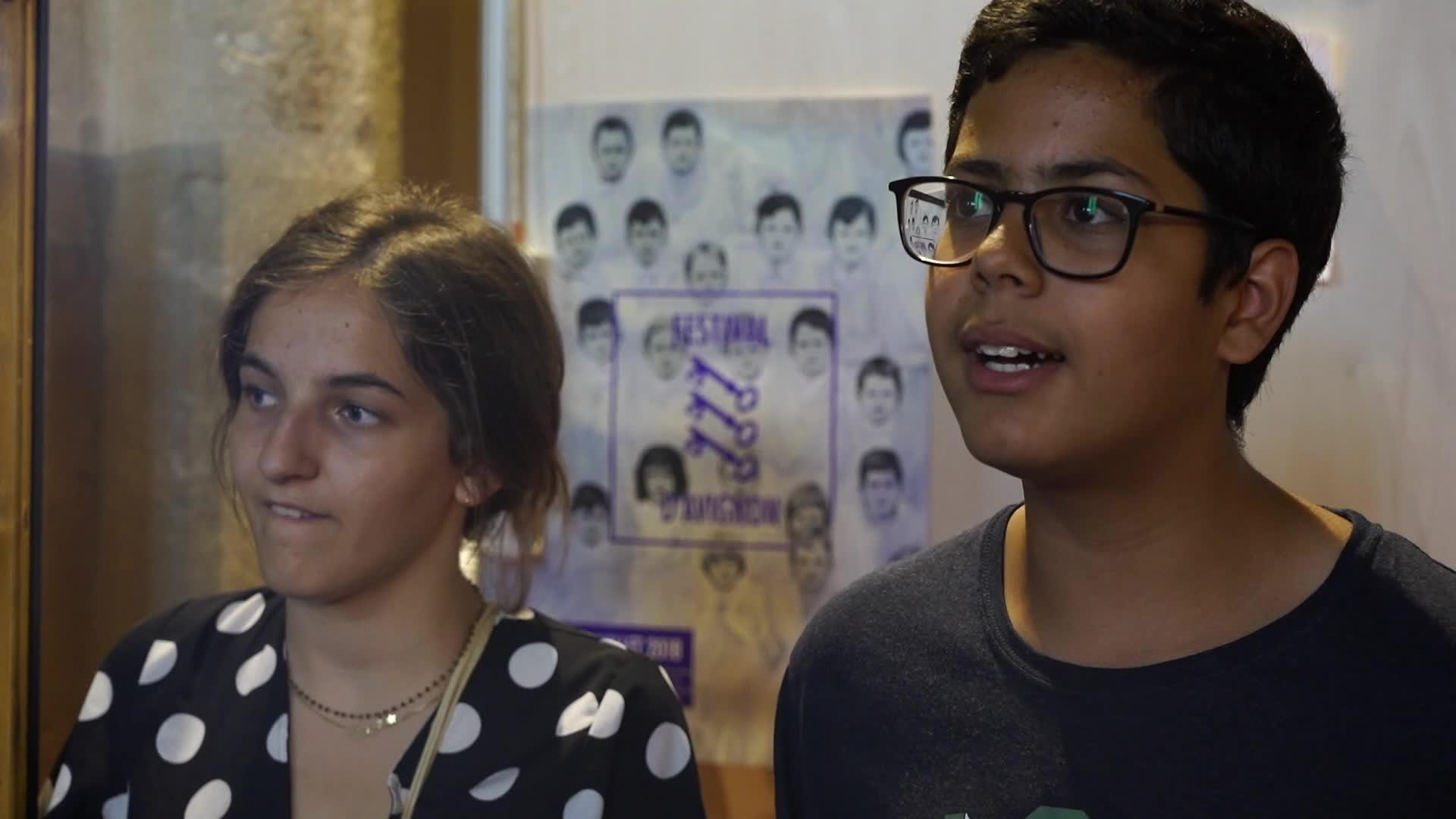Vidéo Jeunes reporters culture - Le bruit des plis