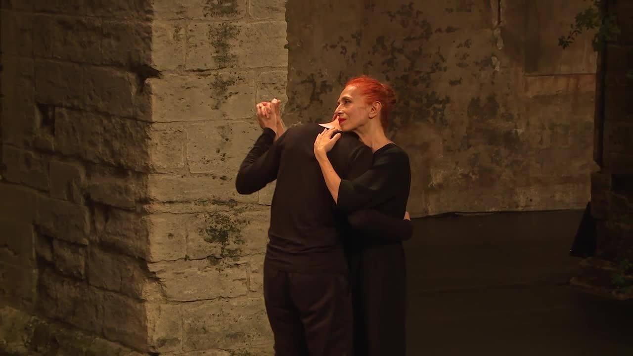 "Vidéo ""Canzone per Ornella"" de Raimund Hoghe - Extraits"