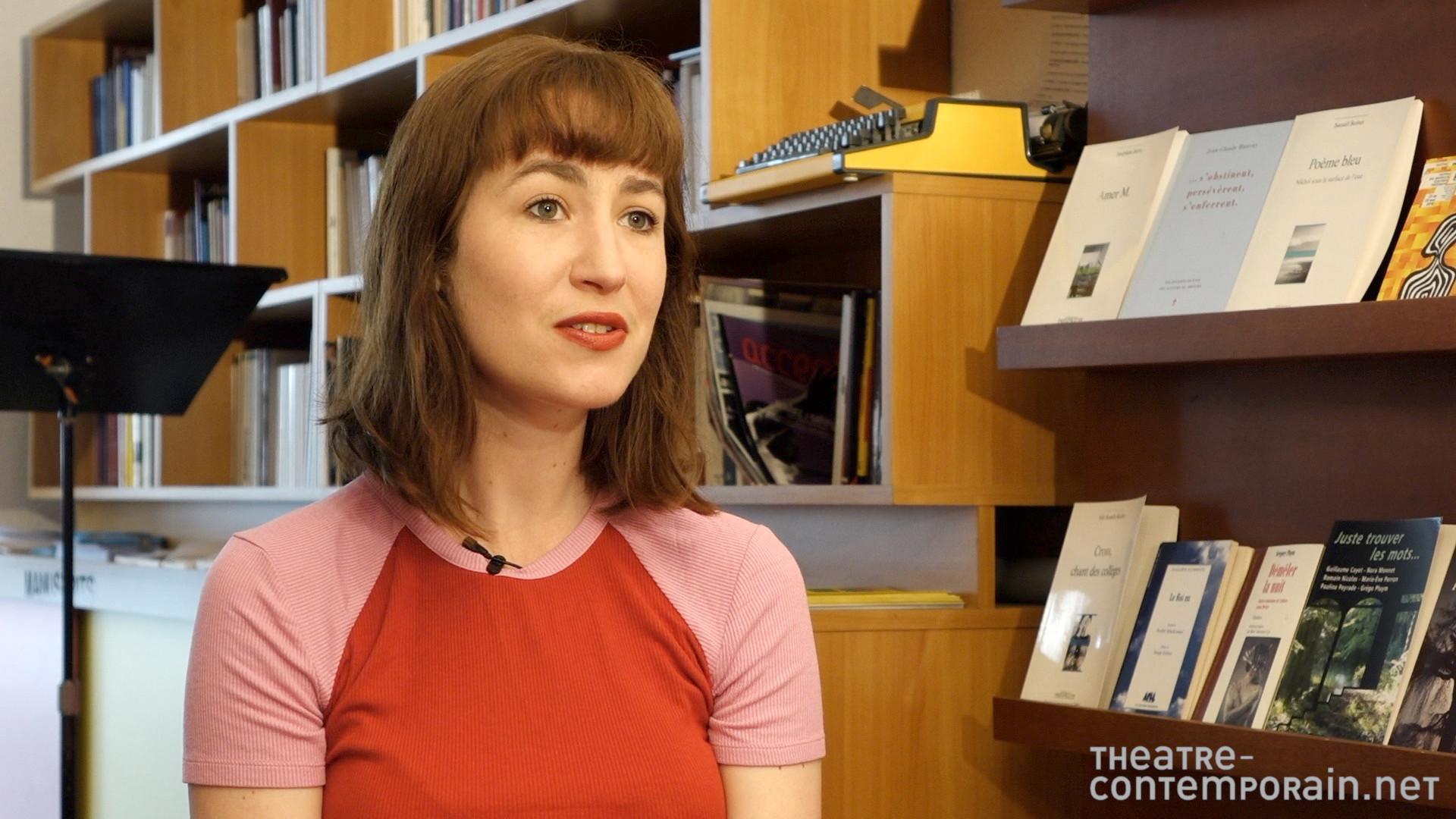Gwendoline Soublin / Le contexte menant à l'écriture