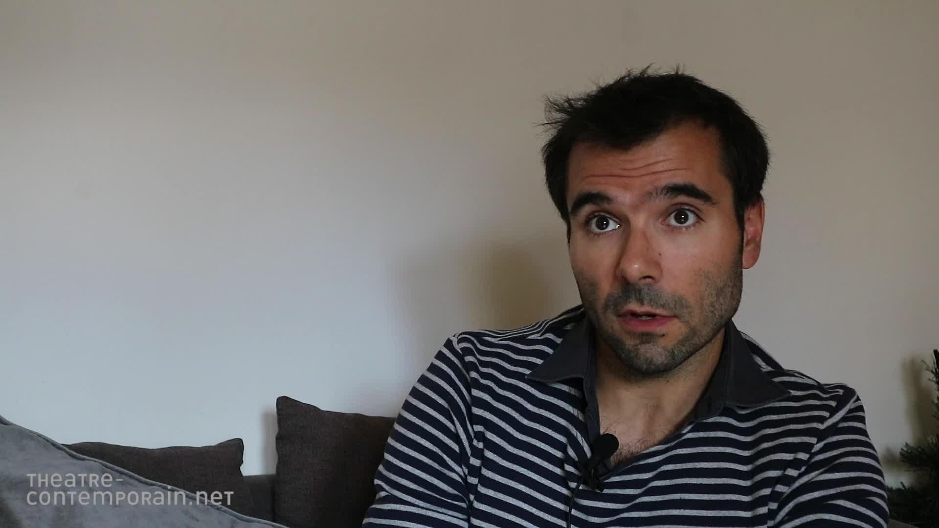 Image de la vidéo Julien Avril, les chemins de l'écriture