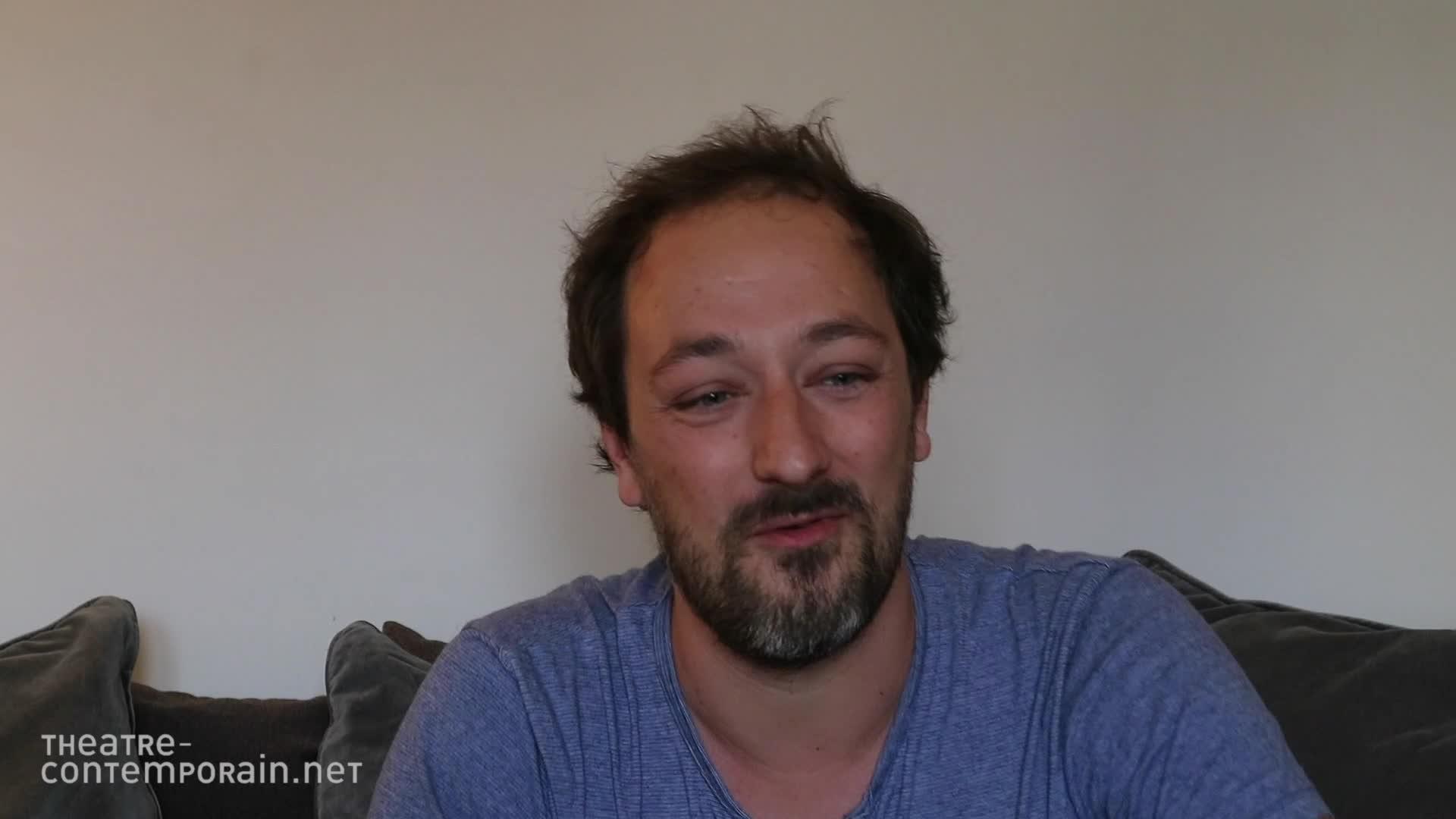 """Samuel Gallet - """"La découverte du théâtre et les chemins de l'écriture"""""""