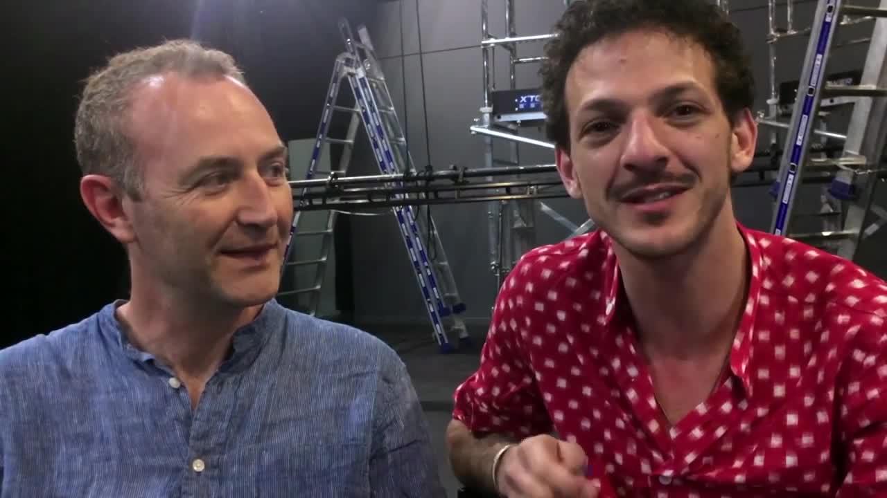 """Vidéo """"Ervart """", H. Blutsch, présentation par V. Dedienne et L. Fréchuret"""