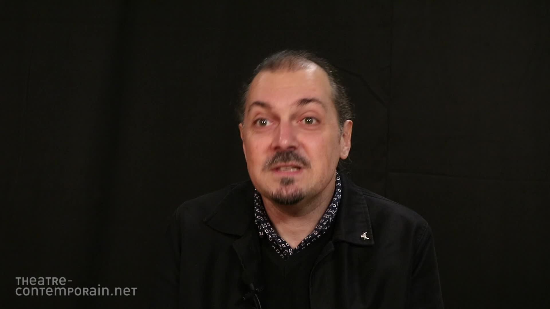 Image de la vidéo Fabien Arca, l'appropriation du texte