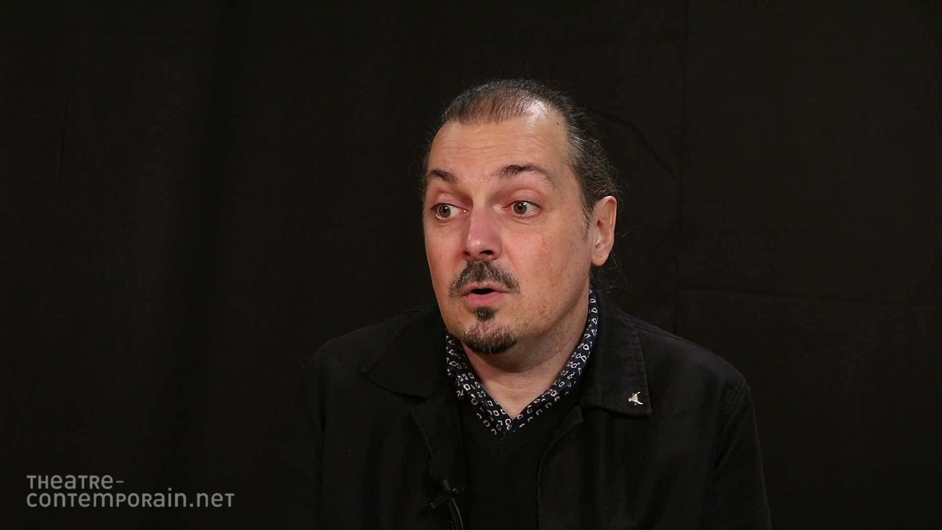 Image de la vidéo Fabien Arca, écrire pour le théâtre jeunesse ?