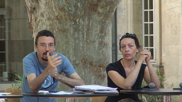 """Vidéo Stanislas Nordey et Claire-Ingrid Cottanceau pour """"Das System"""""""